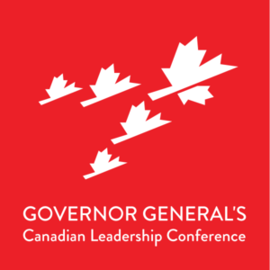 Rikia spoke at the 2012 Governor General's Leadership Conference